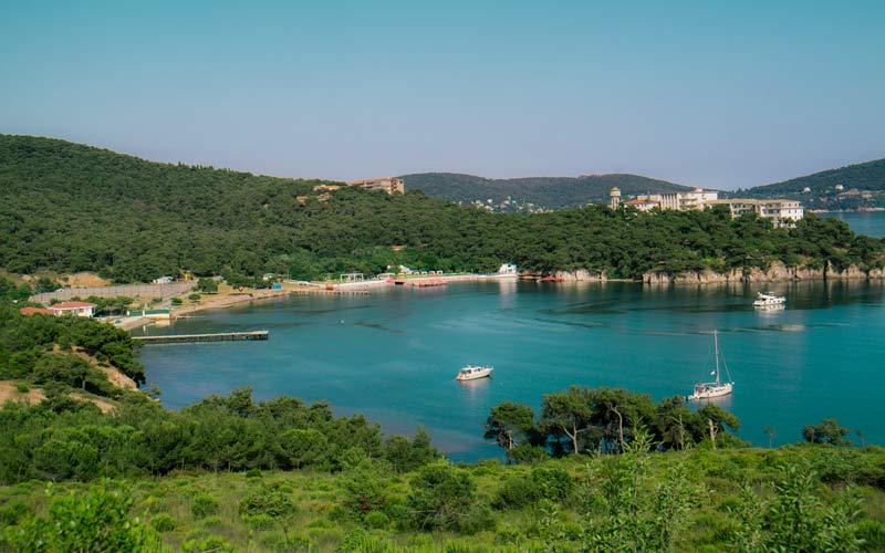 Çam Limanı, Çam Limanı Koyu, Heybeliada Çam Limanı