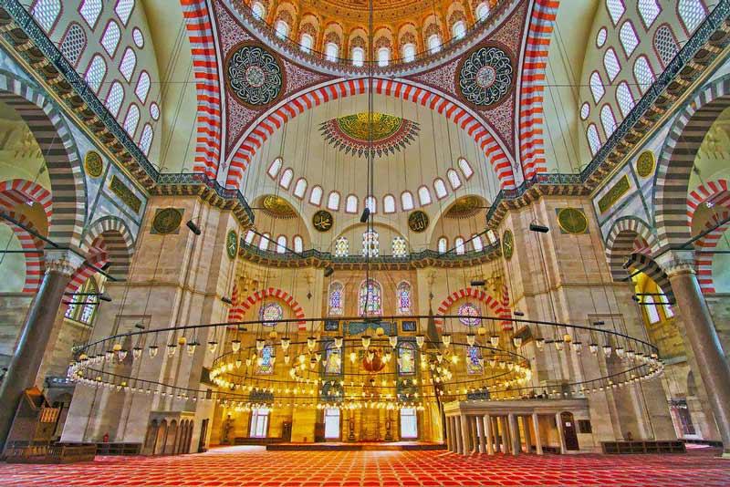 Süleymaniye Camii, Süleymaniye Camii nerede, Süleymaniye Camii nasıl gidilir, Süleymaniye Camii nerededir