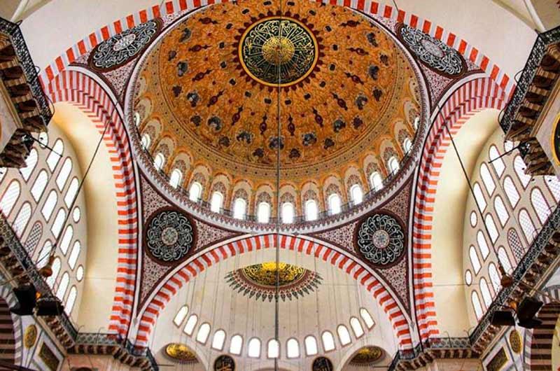 Süleymaniye Camii, Süleymaniye Camii tarihi, Süleymaniye Camii tarihçesi, Süleymaniye Camii özellikleri