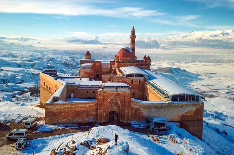 İshak Paşa Sarayı, İshak Paşa Sarayı tarihi, İshak Paşa Sarayı tarihçesi, İshak Paşa Sarayı tarihi nedir