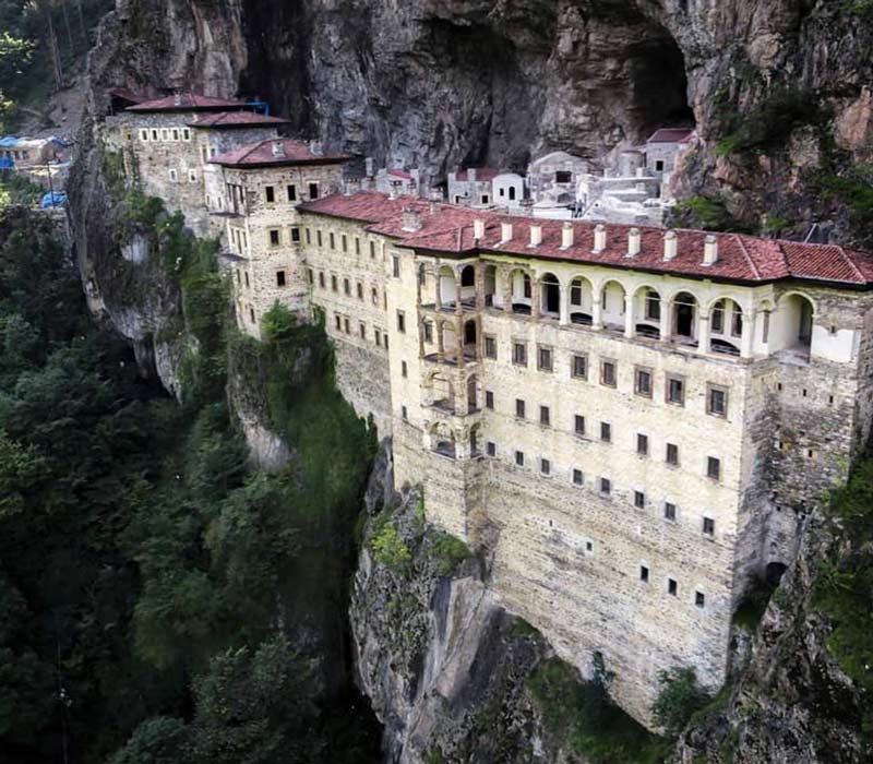Sümela Manastırı, Sümela Manastırı tarihi, Sümela Manastırı tarihçe, Sümela Manastırı tarihçesi, Sümela Manastırı tarihi nedir