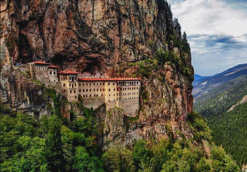 Sümela Manastırı, Sümela Manastırı nerede, Sümela Manastırı hakkında bilgi, Sümela Manastırı tarihi, Sümela Manastırı Trabzon