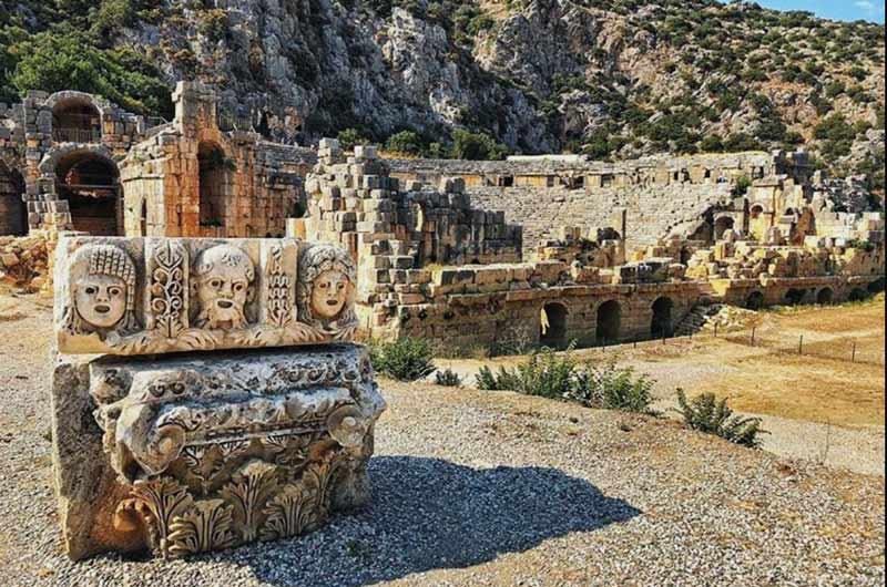 Myra Antik Kenti, Myra Antik Kenti Tarihi, Myra Antik Kenti tarihçesi, Myra Antik Kenti geçmişi, Myra Antik Kenti tarihi bilgi
