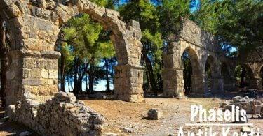 Phaselis Antik Kenti, AntalyaPhaselis Antik Kenti, Phaselis Antik Kenti Antalya, Faselis, Phaselis