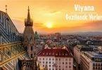 Viyana, Viyana gezisi, Viyana gezi rehberi, Viyana gezilecek yerler, Viyana'da gezilecek yerler, Viyana'da Görülmesi gereken yerler