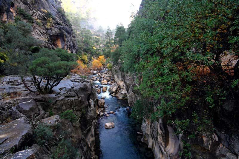 Yazılı Kanyon Tabiat Parkı, Yazılı Kanyon Tabiat Parkı hakkında bilgi, Yazılı Kanyon Tabiat Parkı nerede