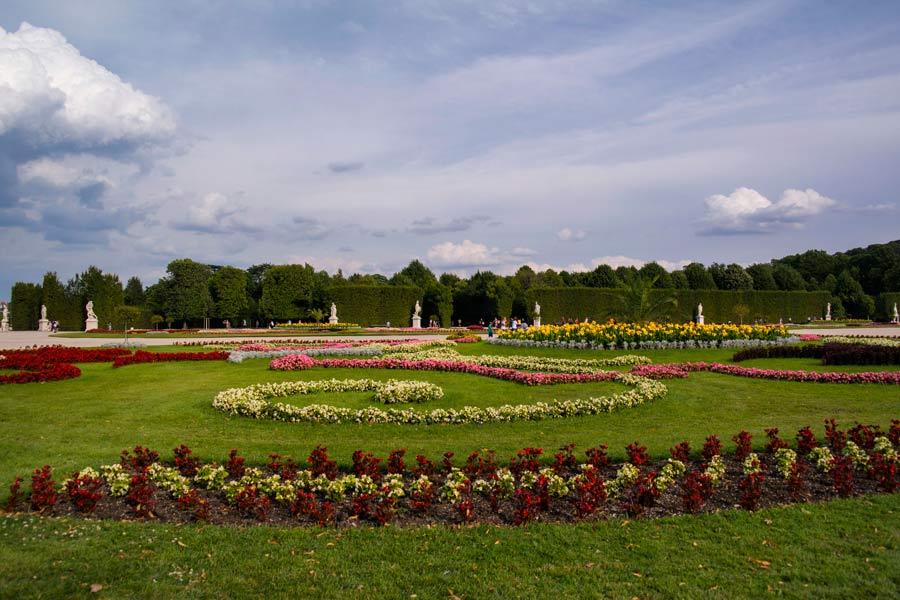 Schönbrunn Sarayı, Schönbrunn Sarayı bahçesi, Schönbrunn Sarayı bahçeleri, Schönbrunn Sarayı bahçe düzenlemesi