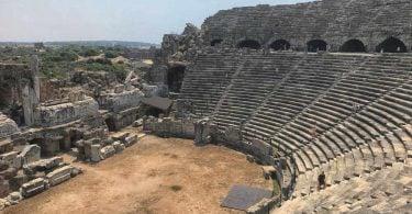 Side, Side tiyatro, Side antik tiyatrosu, Side antik tiyatrosu nerede, Side antik tiyatrosu hakkında bilgi, Side antik tiyatrosu tarihi, Side antik tiyatrosu giriş ücreti
