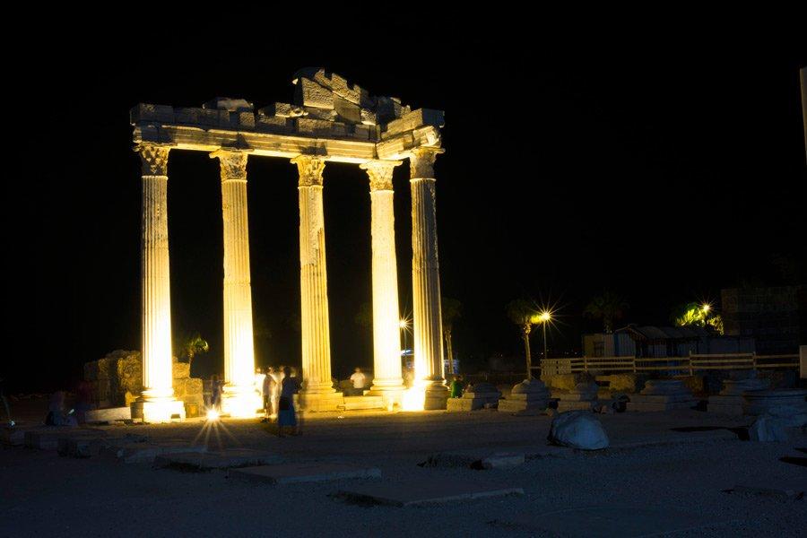 Side Apollon Tapınağı, Side Apollon Tapınağı nerede, Side Apollon Tapınağı bilgi, Apollon Tapınağı, Apollon Tapınağı Side