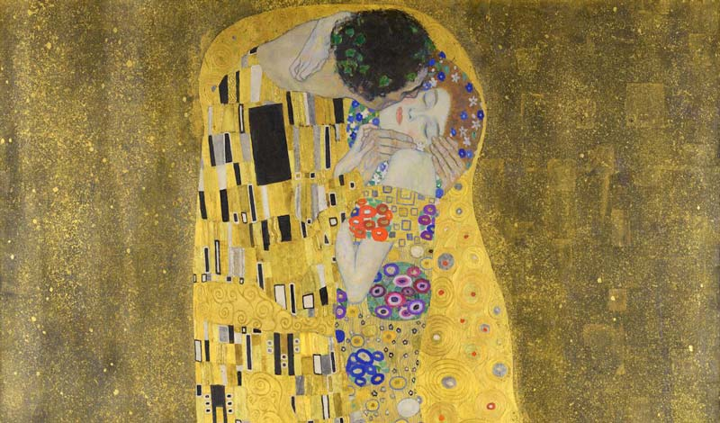 gustav klimt the kiss, gustav klimt the kiss Belvedere, Belvedere gustav klimt the kiss