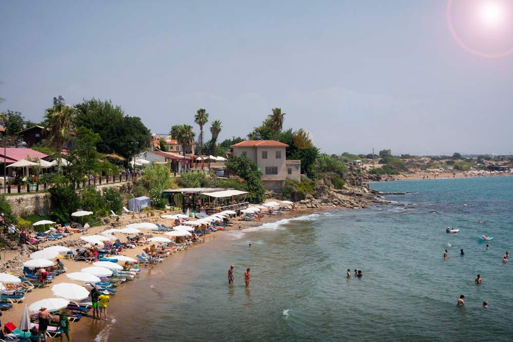 Side, Side Antik Kenti, Side Antik Kenti Plajı, Side plaj