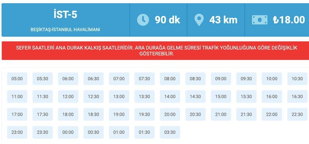 Beşiktaş'tan İstanbul Havaalanına nasıl gidilir, Beşiktaş'tan İstanbul Havalimanına nasıl gidilir, Beşiktaş-İstanbul Havalimanı