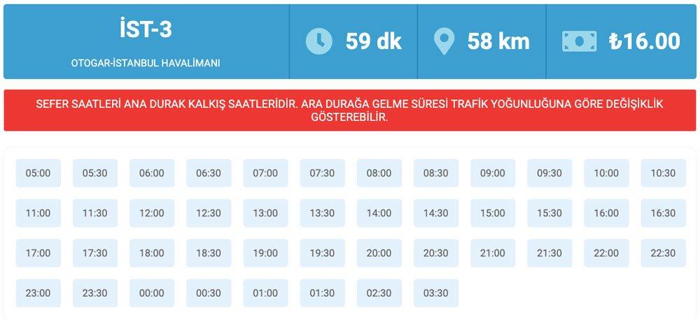 Otagar'dan İstanbul Havaalanına nasıl gidilir, Otogar'dan İstanbul Havalimanına nasıl gidilir, Otogar-İstanbul Havalimanı