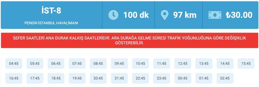 Pendik'ten İstanbul Havaalanına nasıl gidilir, Pendik'ten İstanbul Havalimanına nasıl gidilir, Pendik - İstanbul Havalimanı