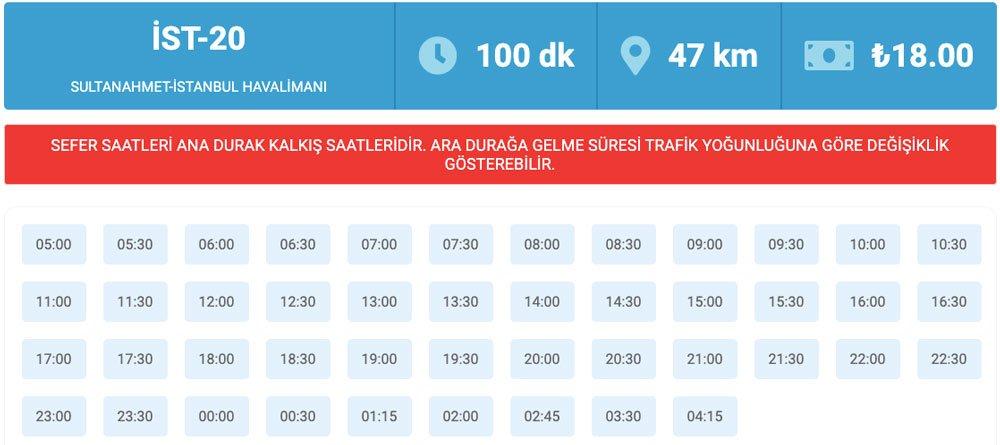 Sultanahmet'ten İstanbul Havaalanına nasıl gidilir, Sultanahmet'ten İstanbul Havalimanına nasıl gidilir, Sultanahmet - İstanbul Havalimanı